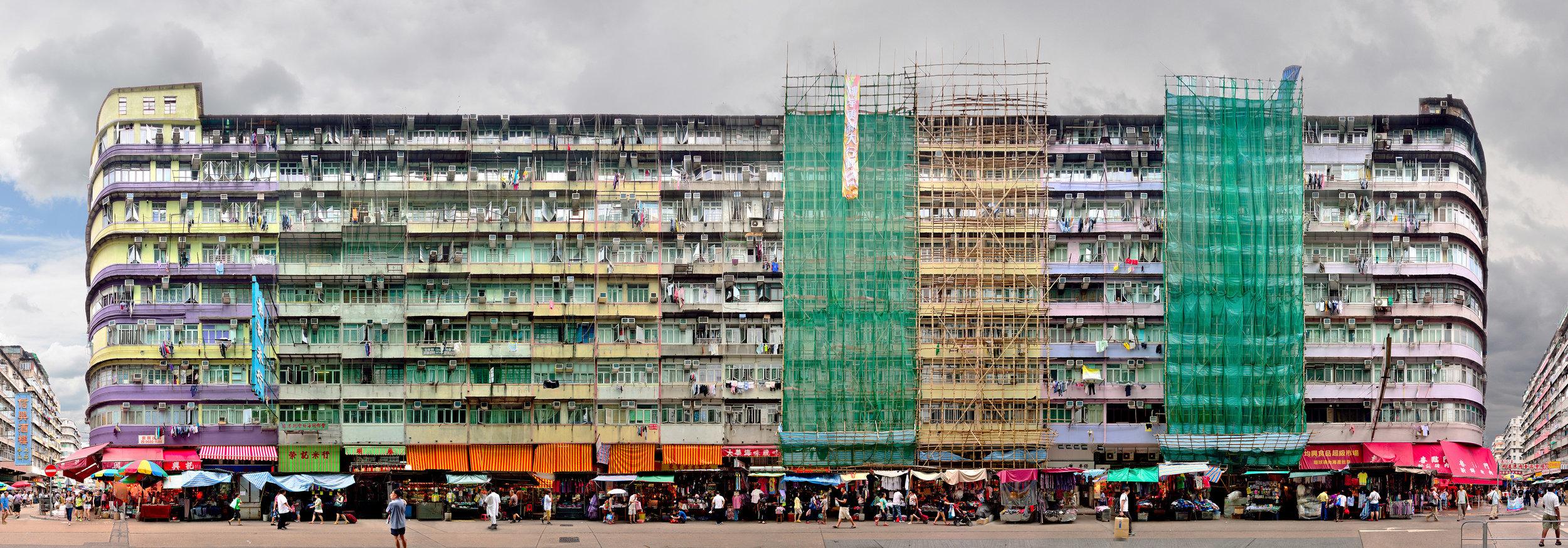 The Last Tong Lau - Stefan Irvine 'Ki Lung Street, Sham Shui Po' (Hong Kong, 2014) Courtesy of Blue Lotus Gallery