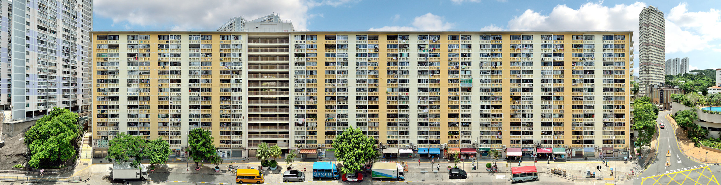 Stefan Irvine 'Wah Fu Estate, Pok Fu Lam' (Hong Kong, 2017) Courtesy of Blue Lotus Gallery