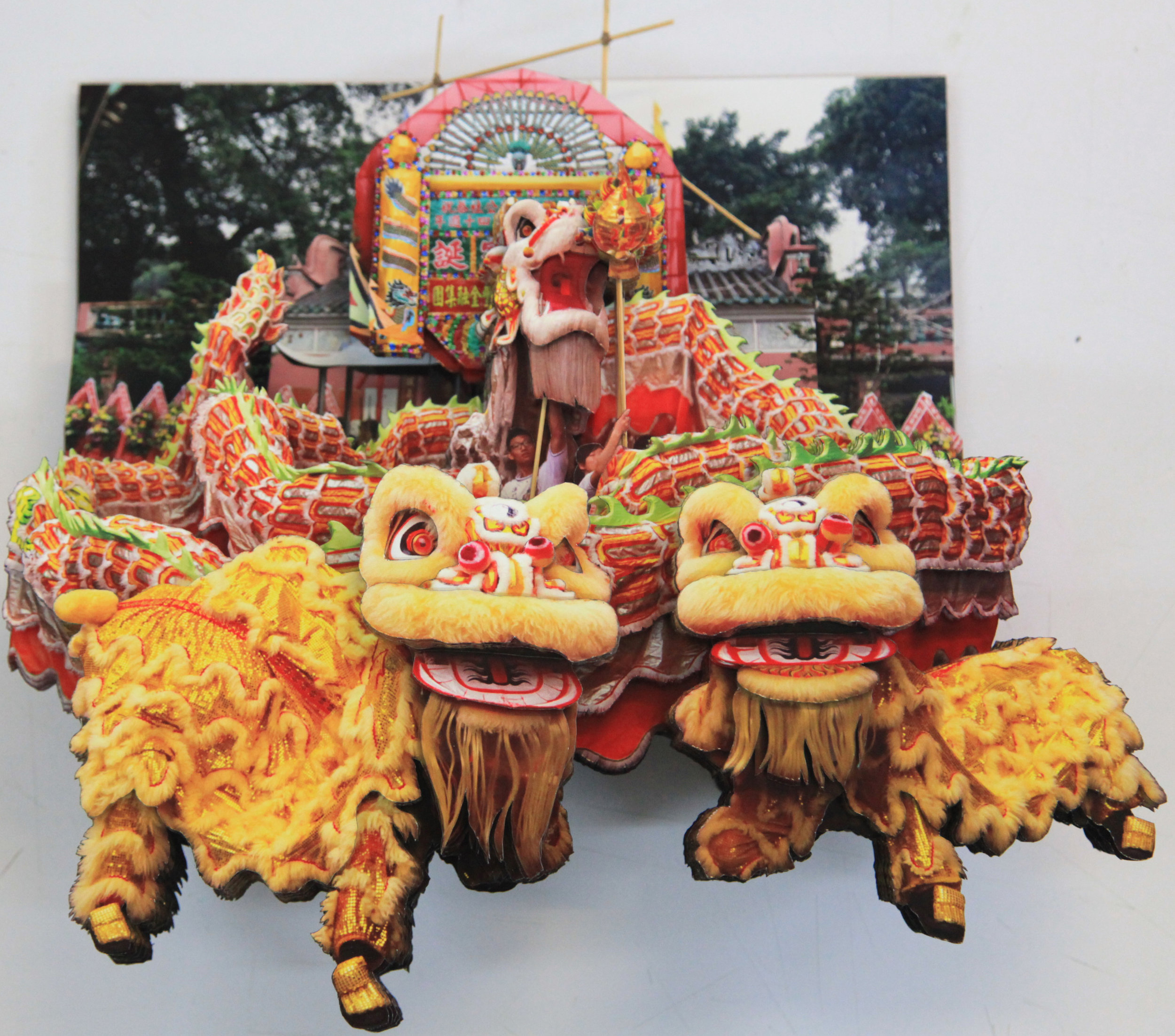 葉家偉 Alexis Ip 'Lion Dance' (Hong Kong, 2019) Courtesy of Blue Lotus Gallery.JPG
