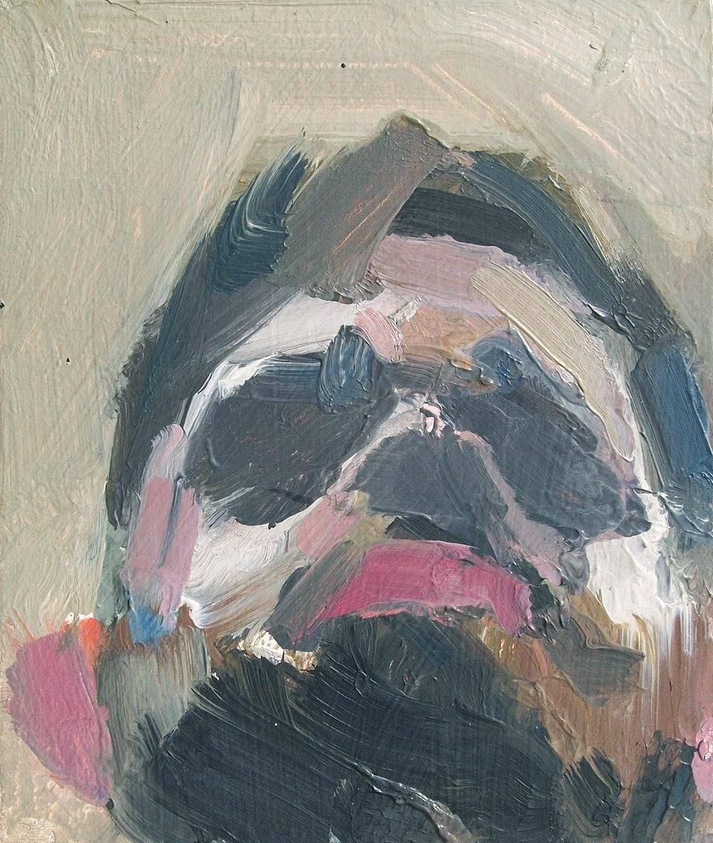 Self-Portrait  2016, oil on board