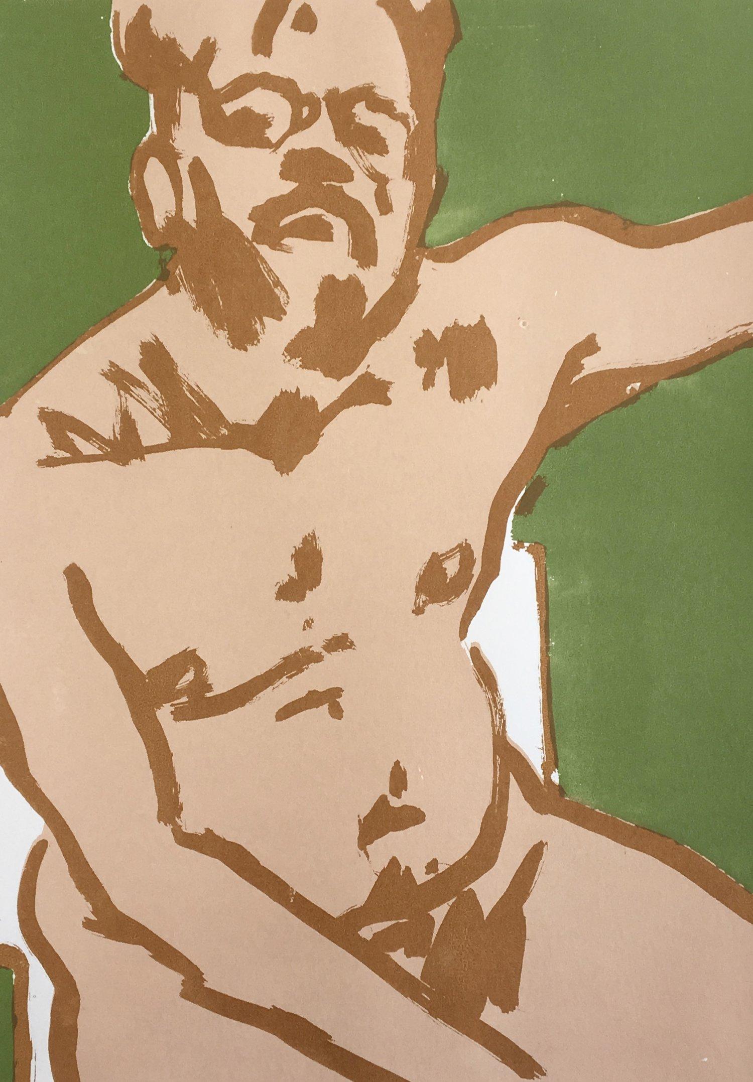 Naked Self-Portrait,  2017