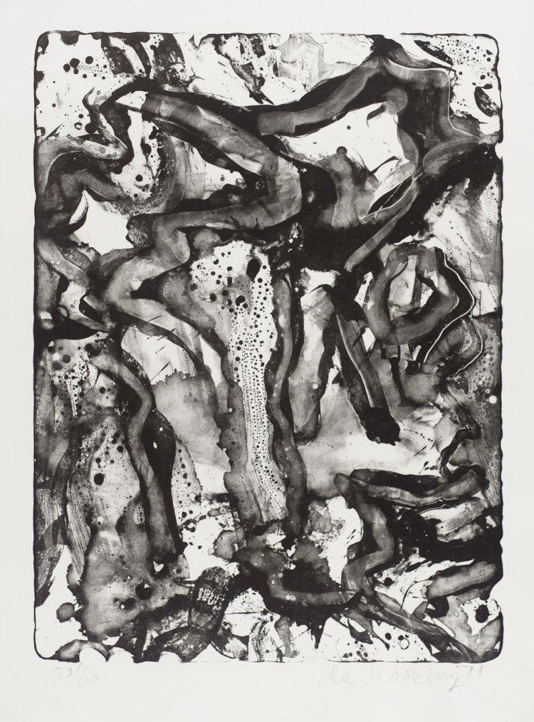 Willem de Kooning,  Landscape at Stanton Street,  1971