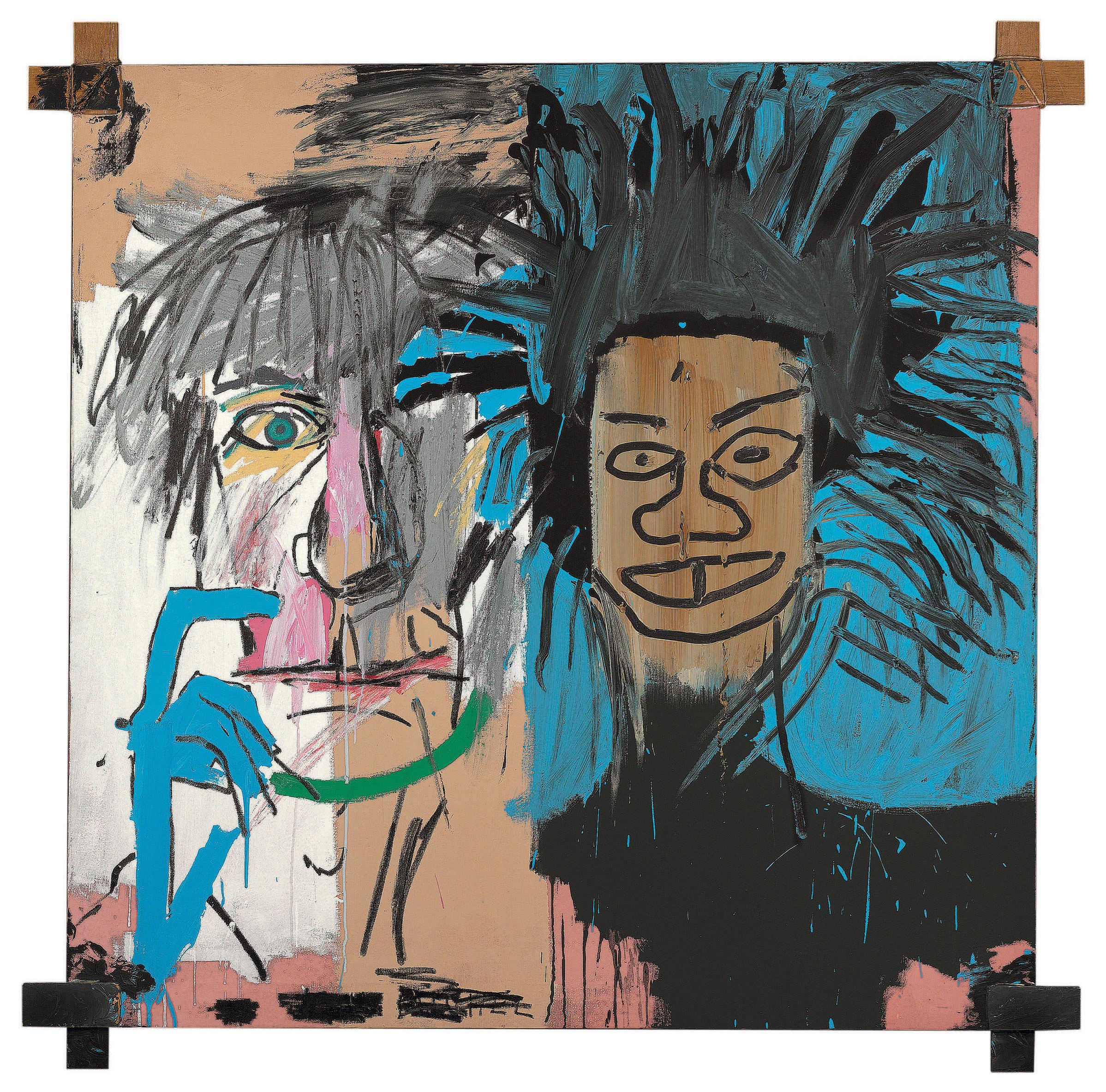 Jean-Michel Basquiat,  Dos Cabezas,  1982