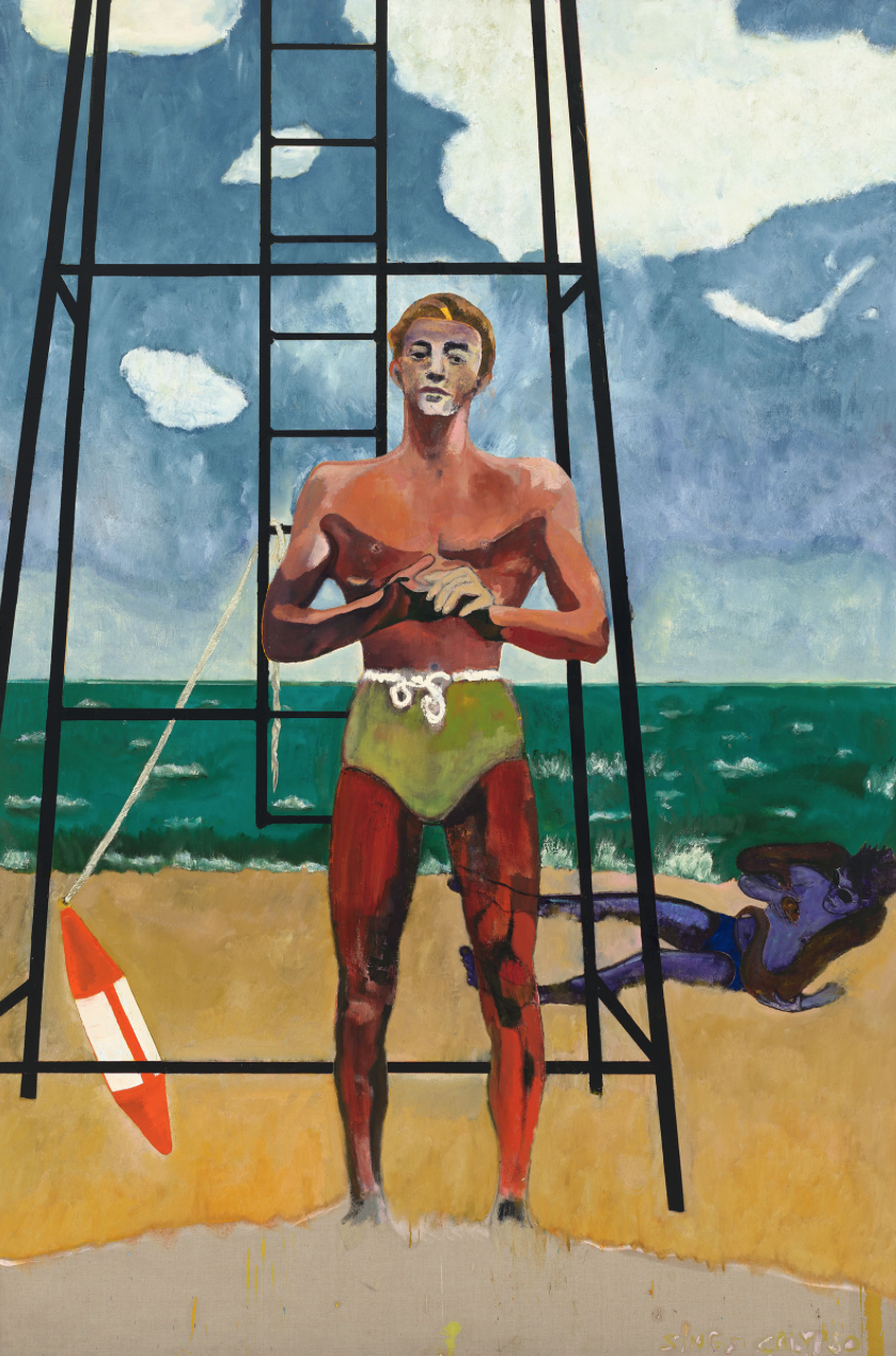 Peter Doig,  Red Man (Sings Calypso),  2017