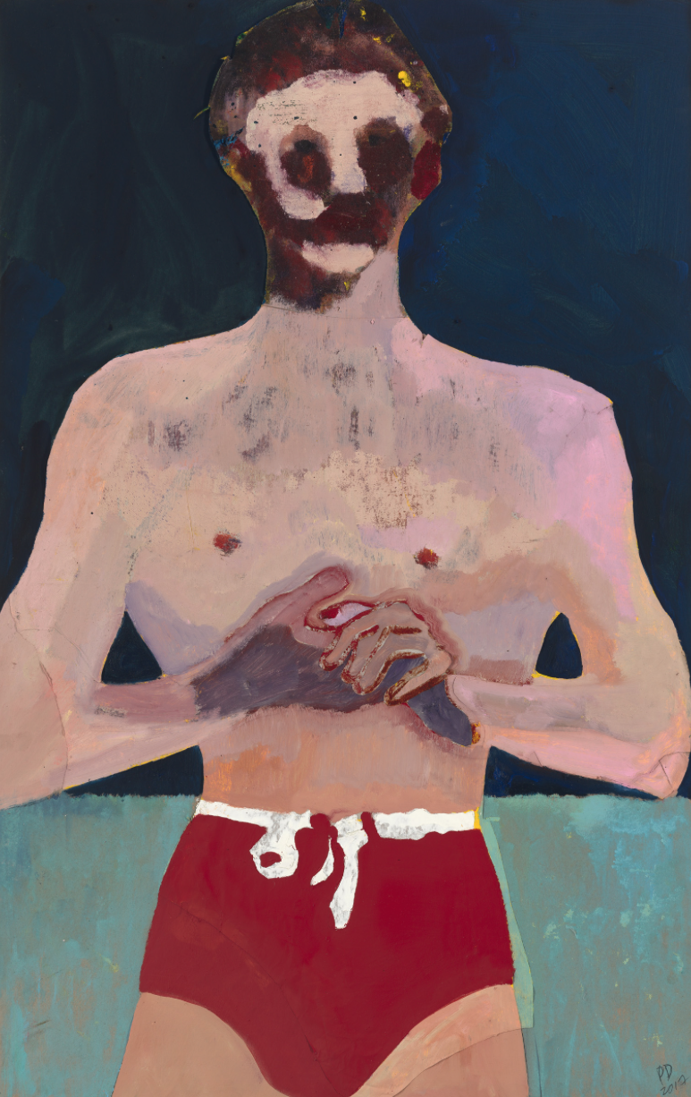 Peter Doig,  Red Man,  2017
