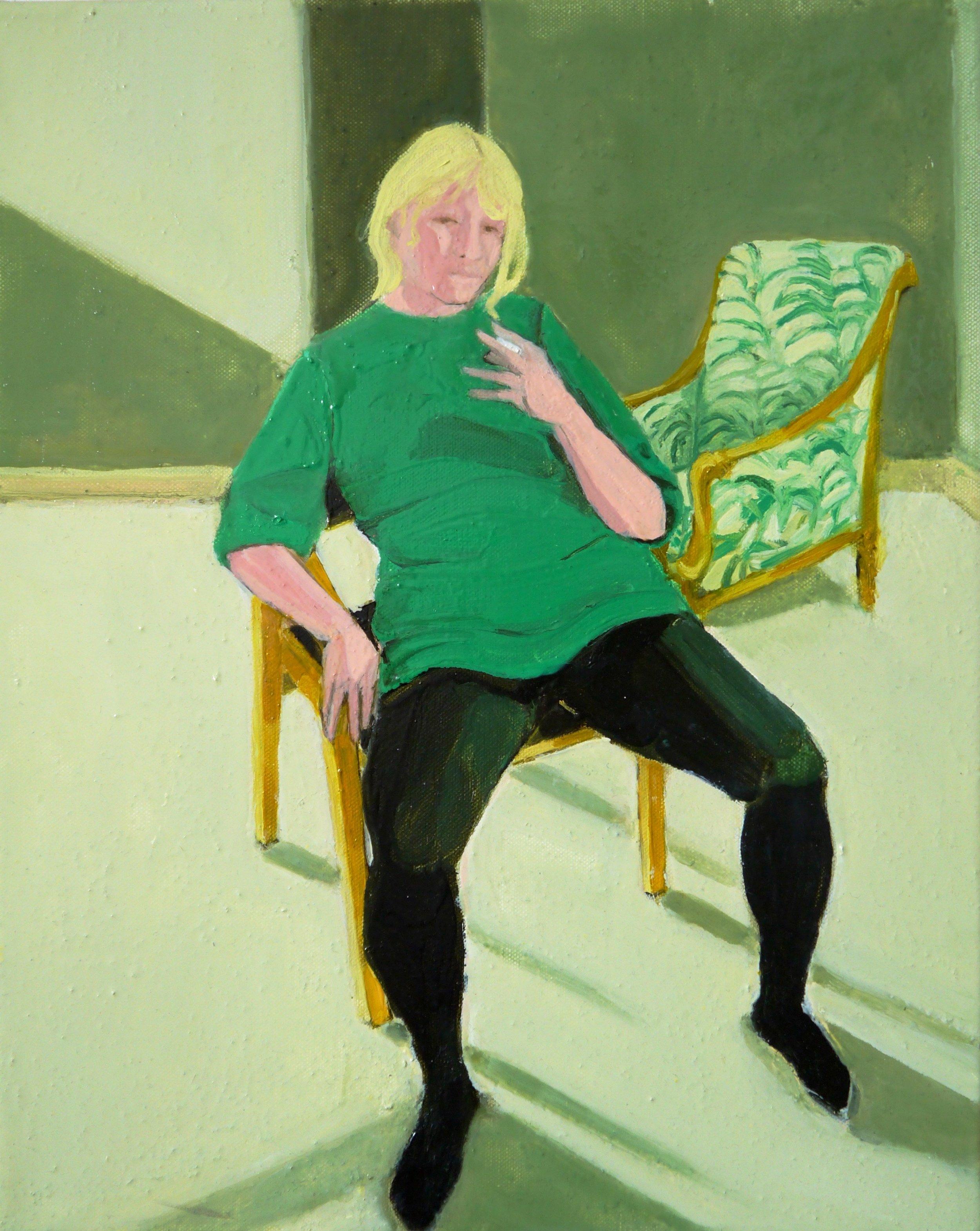 Anna Choutova,  Self-Portrait in North London,  2017