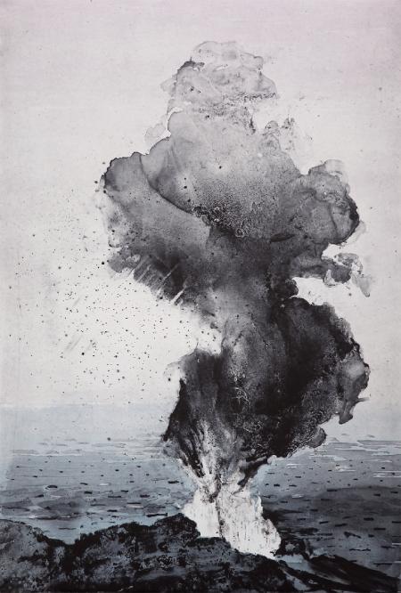 Emma Stibbon,  Stromboli Smoke,  2016