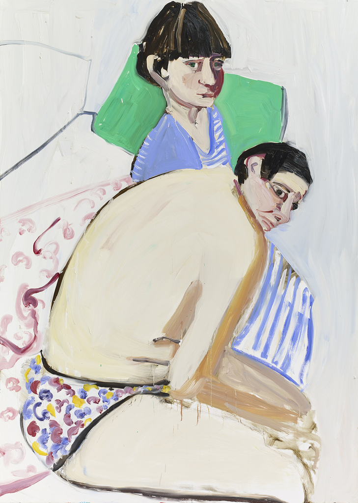 Chantal Joffe,  The Squid and the Whale,  2017