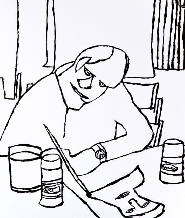 Peter Sutton,  Self-Portrait