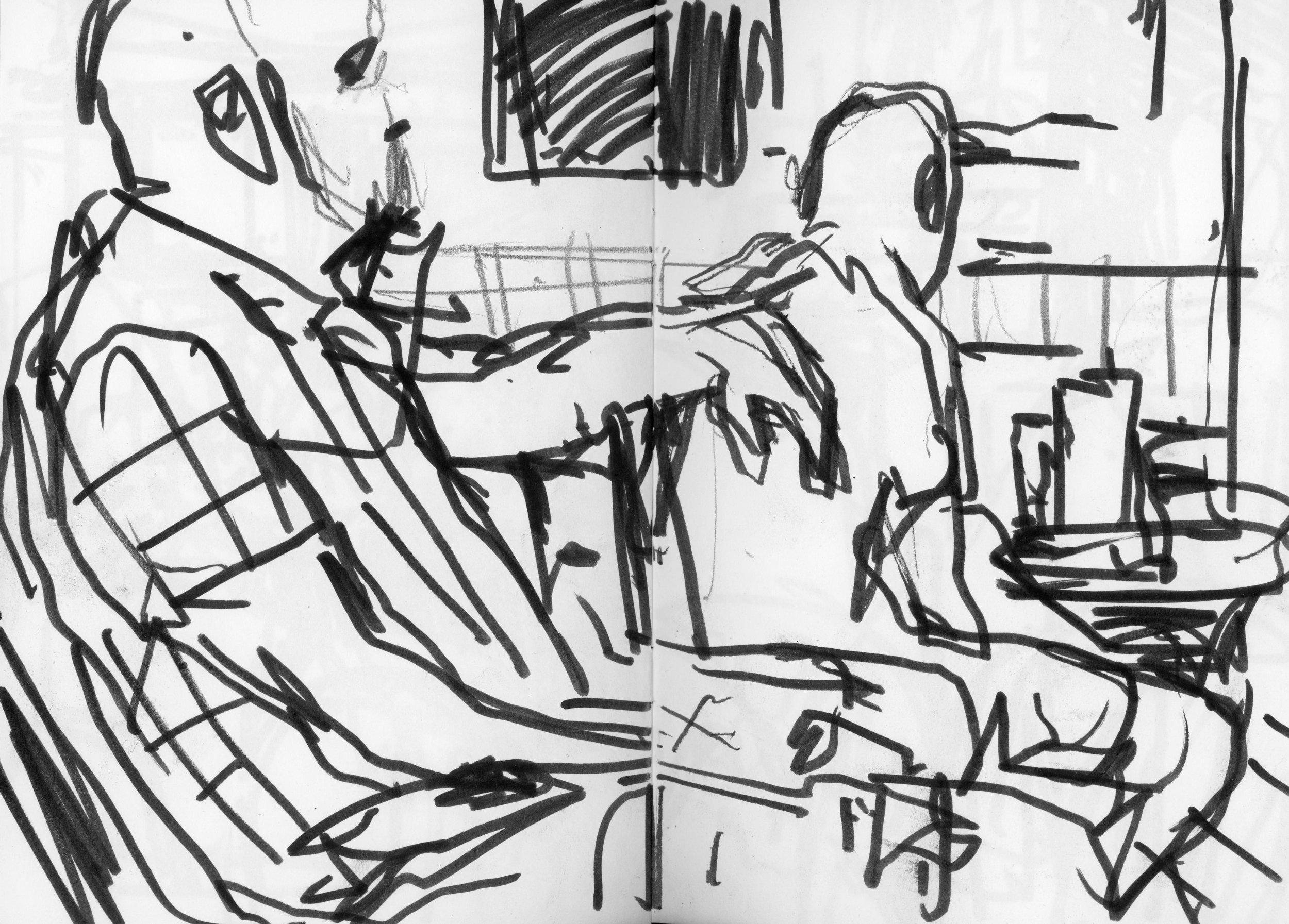 Sketchbook,  2018