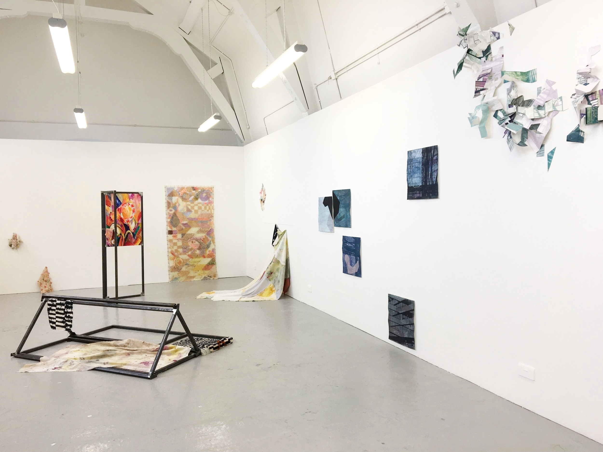 Leah Stewart and Rowan Siddons,  installation view
