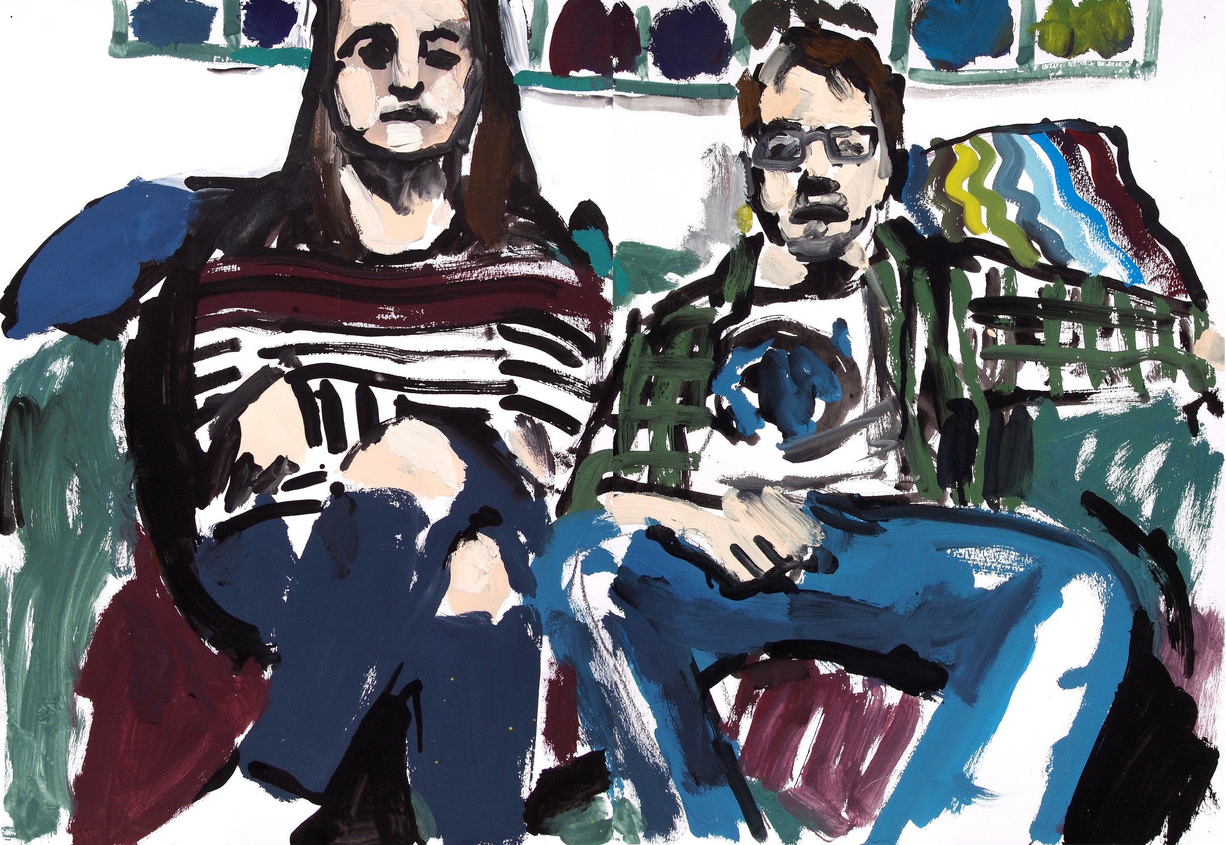 Emily and John,  2017