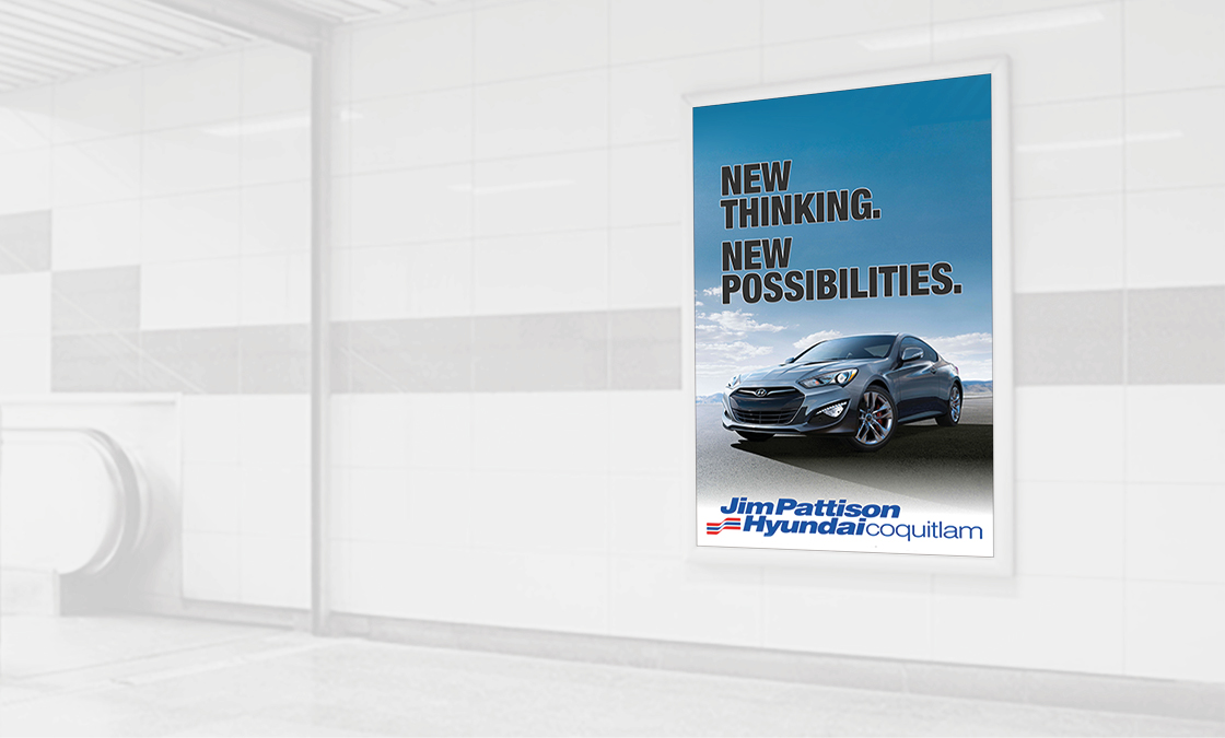 Jim Pattison Auto Group - Bus Shelter