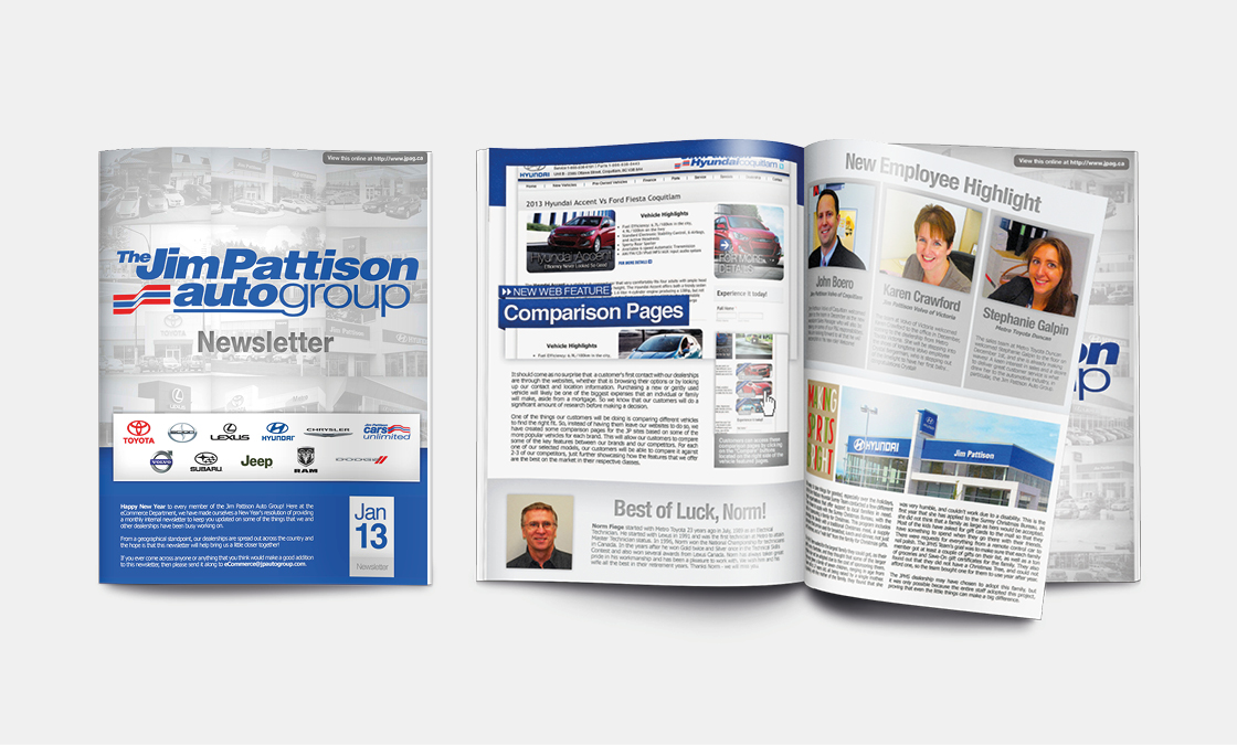 Jim Pattison Auto Group - Newsletter