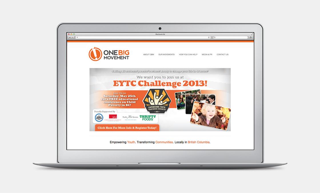 One Big Movement - Website