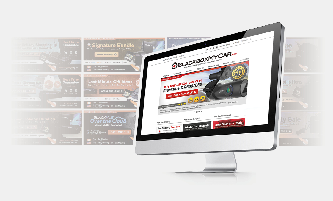 New monthly website promotions to keep customers engaged