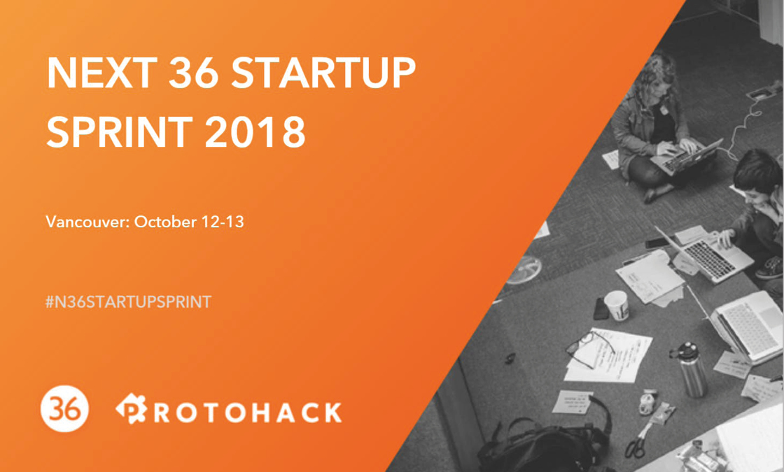 Last week, I participated in my very first code-free hackathon/sprint at the Next 36 Startup Sprint 2018 Vancouver.