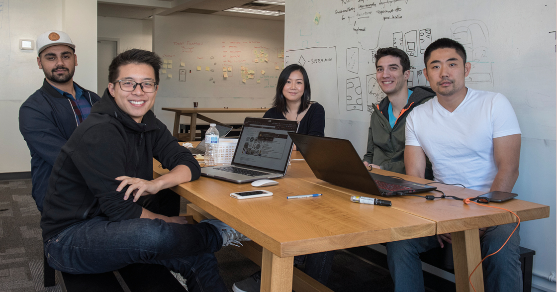 Working in a team of 4 (we called ourselves Team Loqi), our team set out to make our travel app a reality!