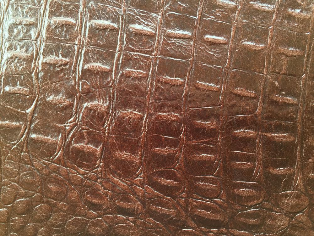 Standard Leather -  BROWN CROC