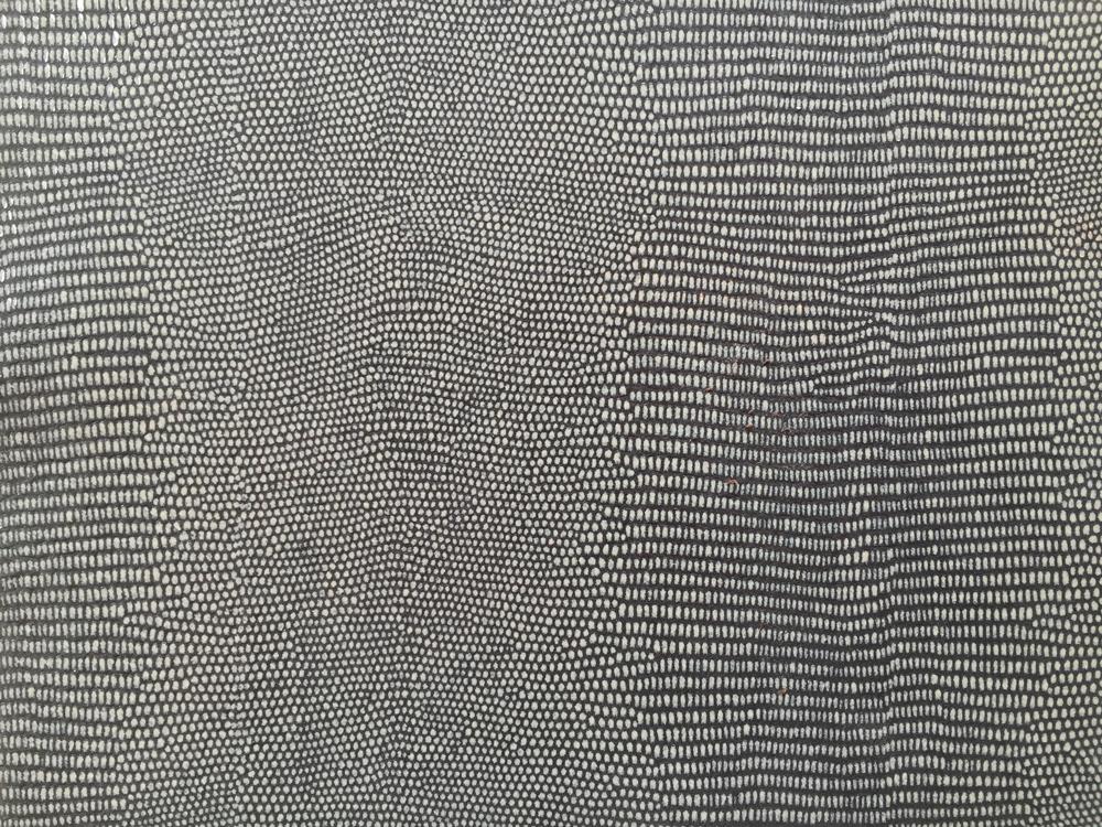 Standard Leather -  IGANA LIZARD NAVY