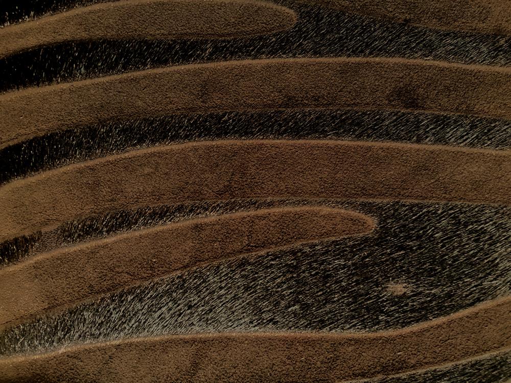 Semi Exotic -  HAIR ON HIDE BROWN