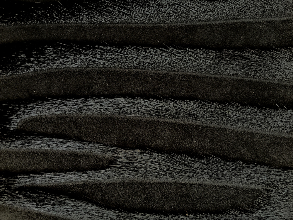 Semi Exotic -  HAIR ON HIDE BLACK