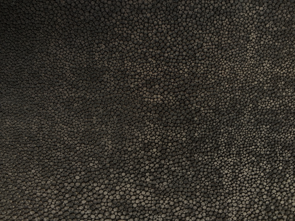 Semi Exotic -  CHARCOAL SUEDED SHAGREEN