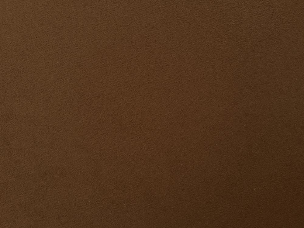 Standard Leather -  FAUX SUEDE DARK BROWN