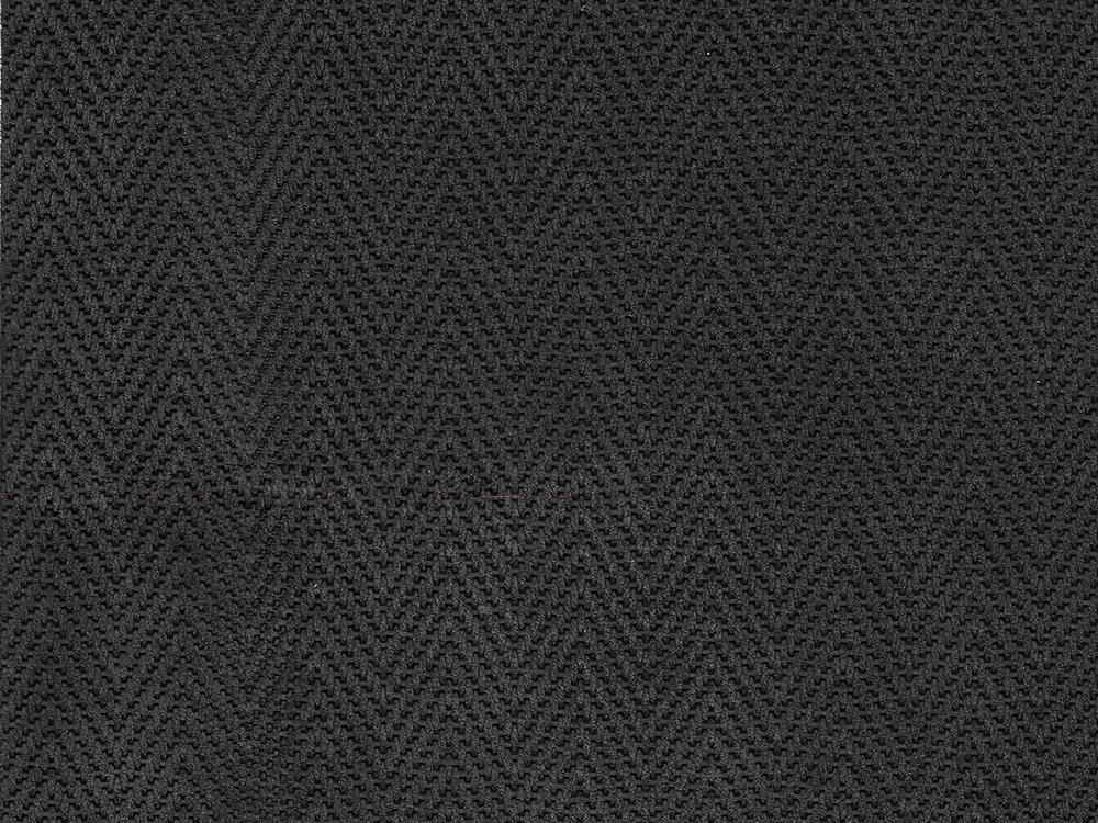 Standard Leather -  SUEDED HERRINGBONE CHARCOAL