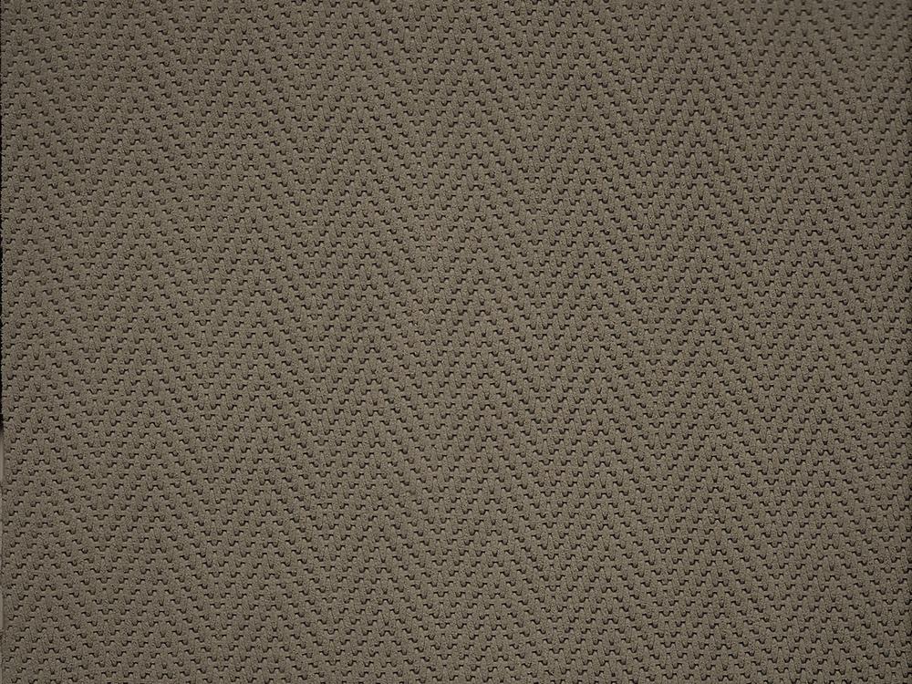 Standard Leather -  SUEDED HERRINGBONE OATMEAL