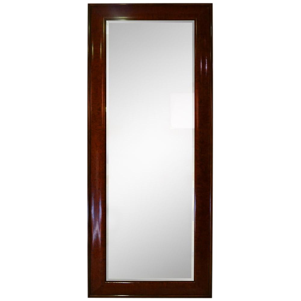 KAVASINGO WITH DARK WALNUT TRIM MIRROR   Dimension: W 94cm x H 223cm