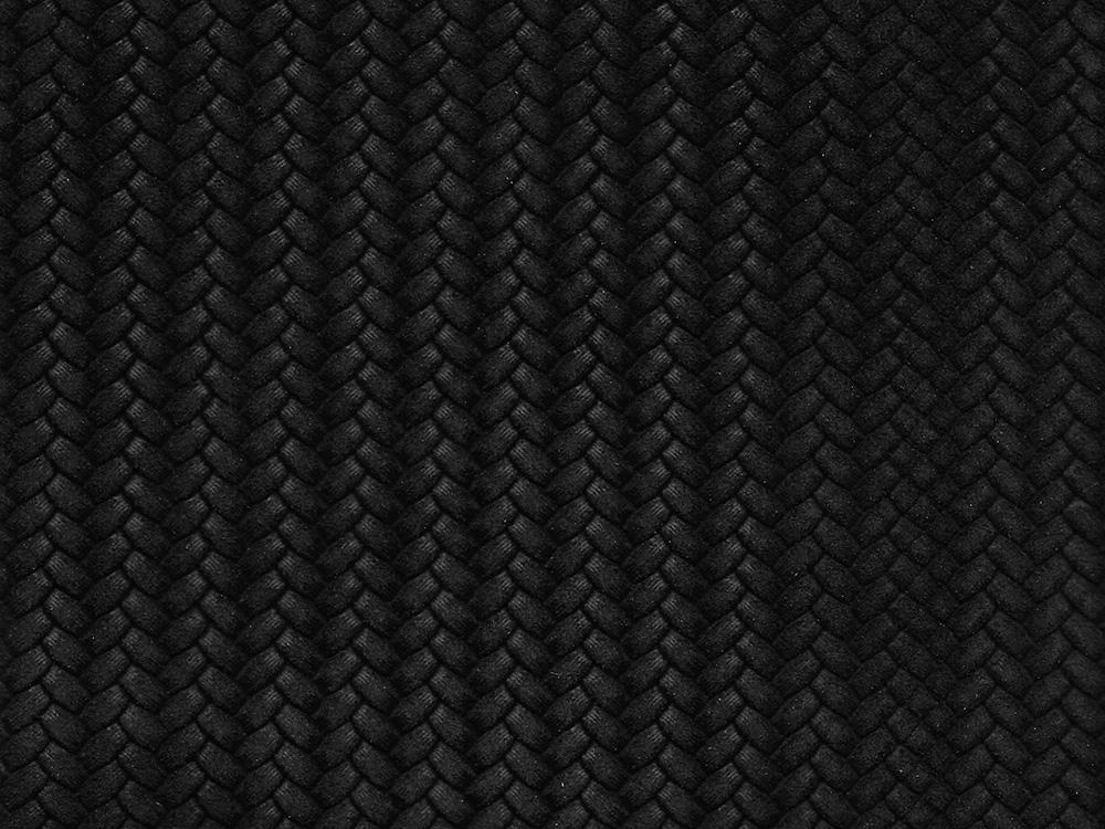 BLACK SUEDED HERRINGBONE