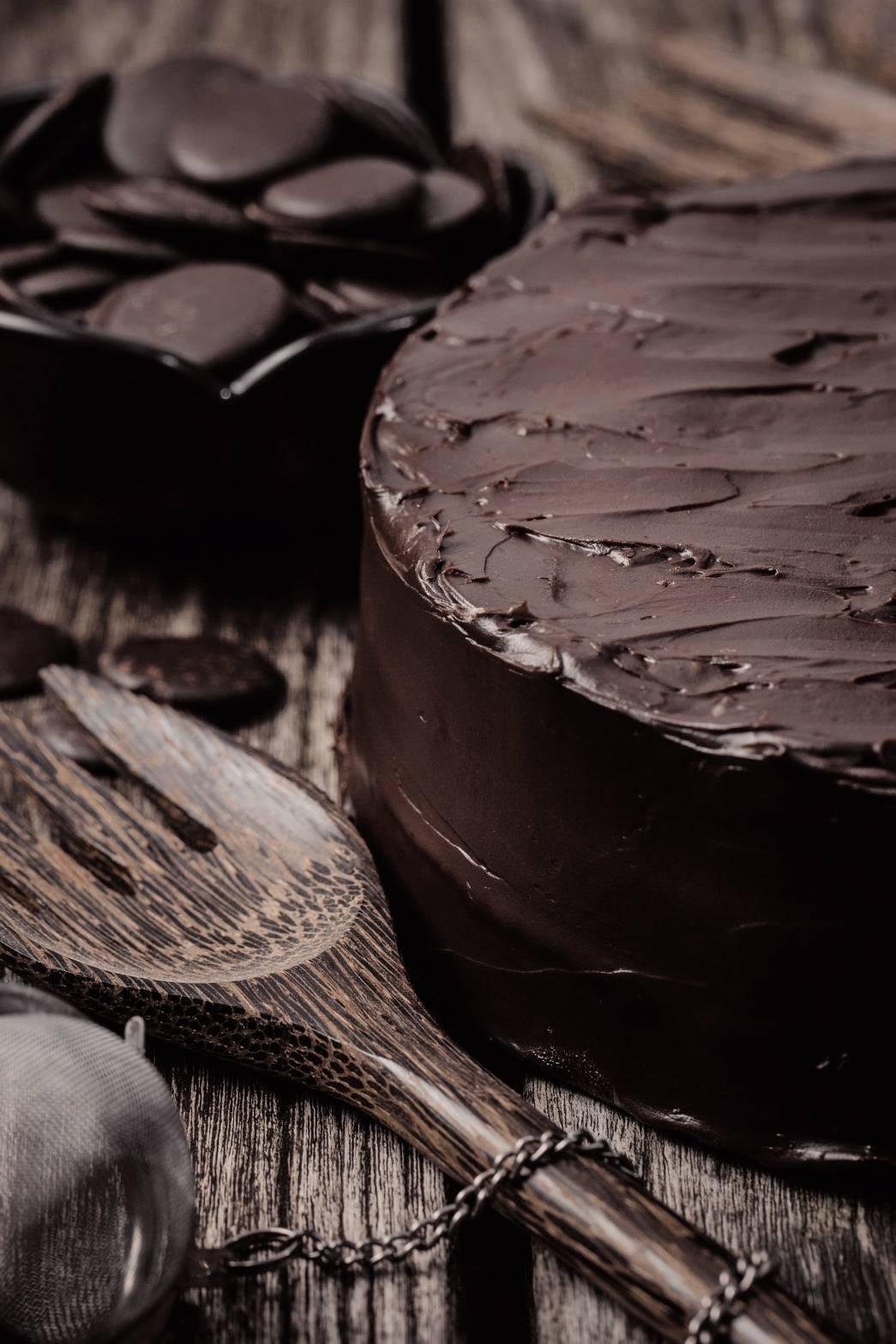 FUDGYCHOCOLATE CAKE - Super Duper Fudgy !!!