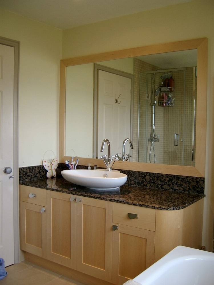 Maple and Granite Bathroom