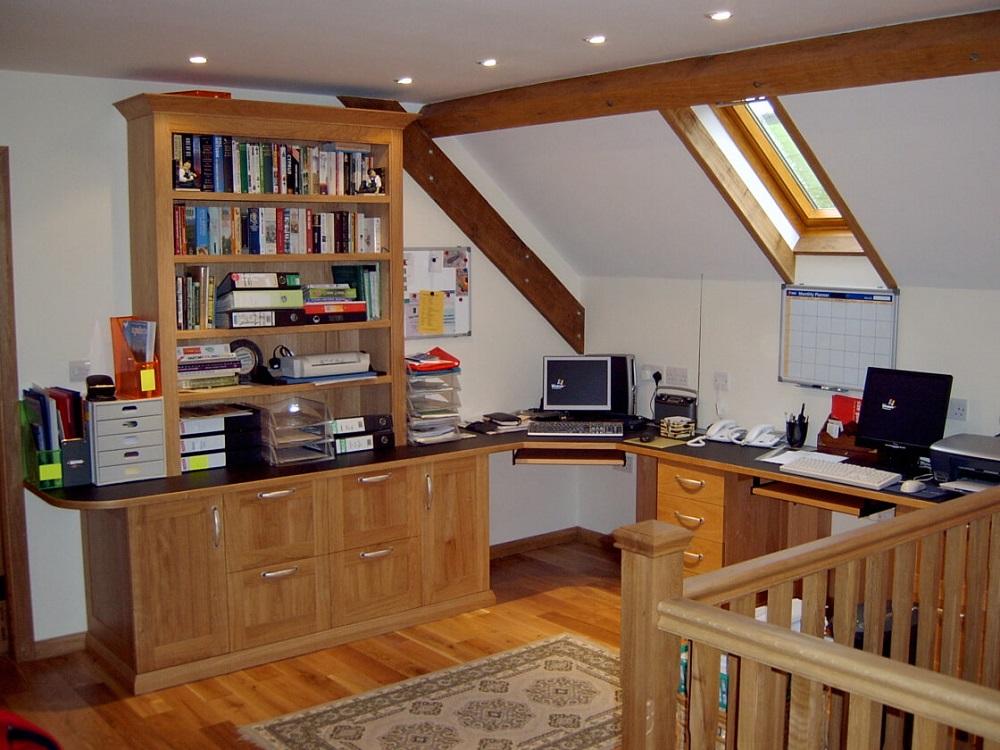 Bespoke home office storage