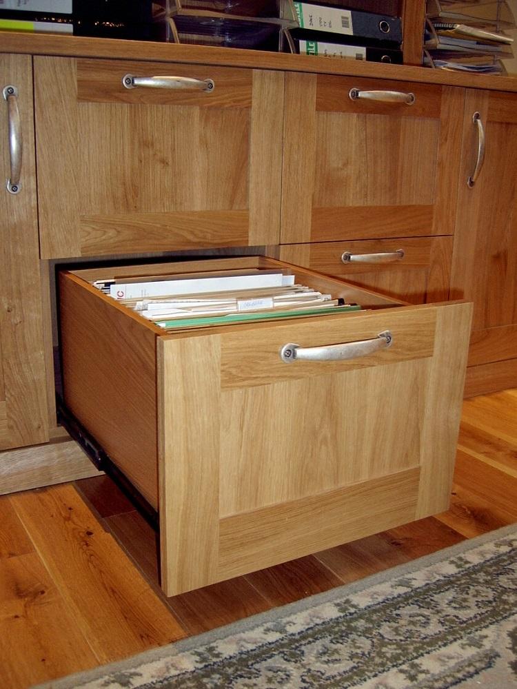 Bespoke filing cabinet