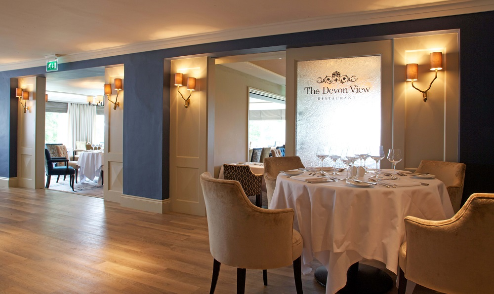 Devon View Restaurant, High Bullen Hotel