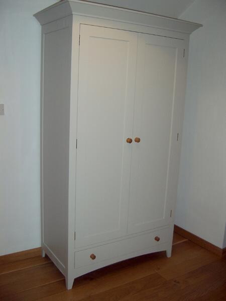 Painted Single Wardrobe