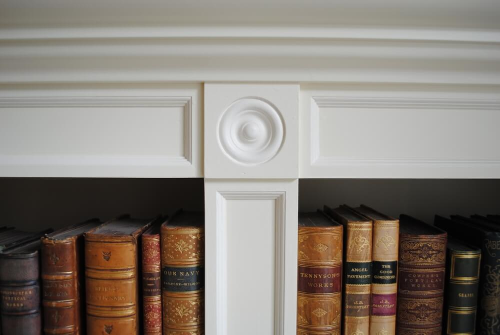 Painted Library Detail