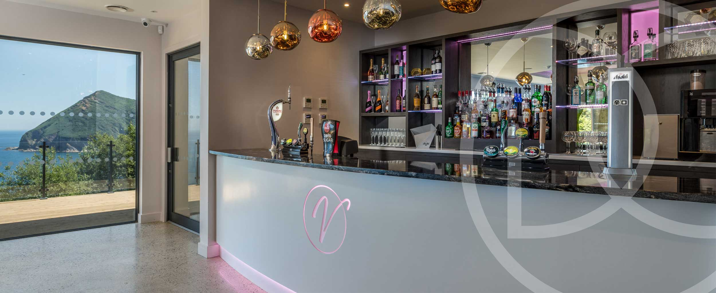 Bespoke bar North Devon