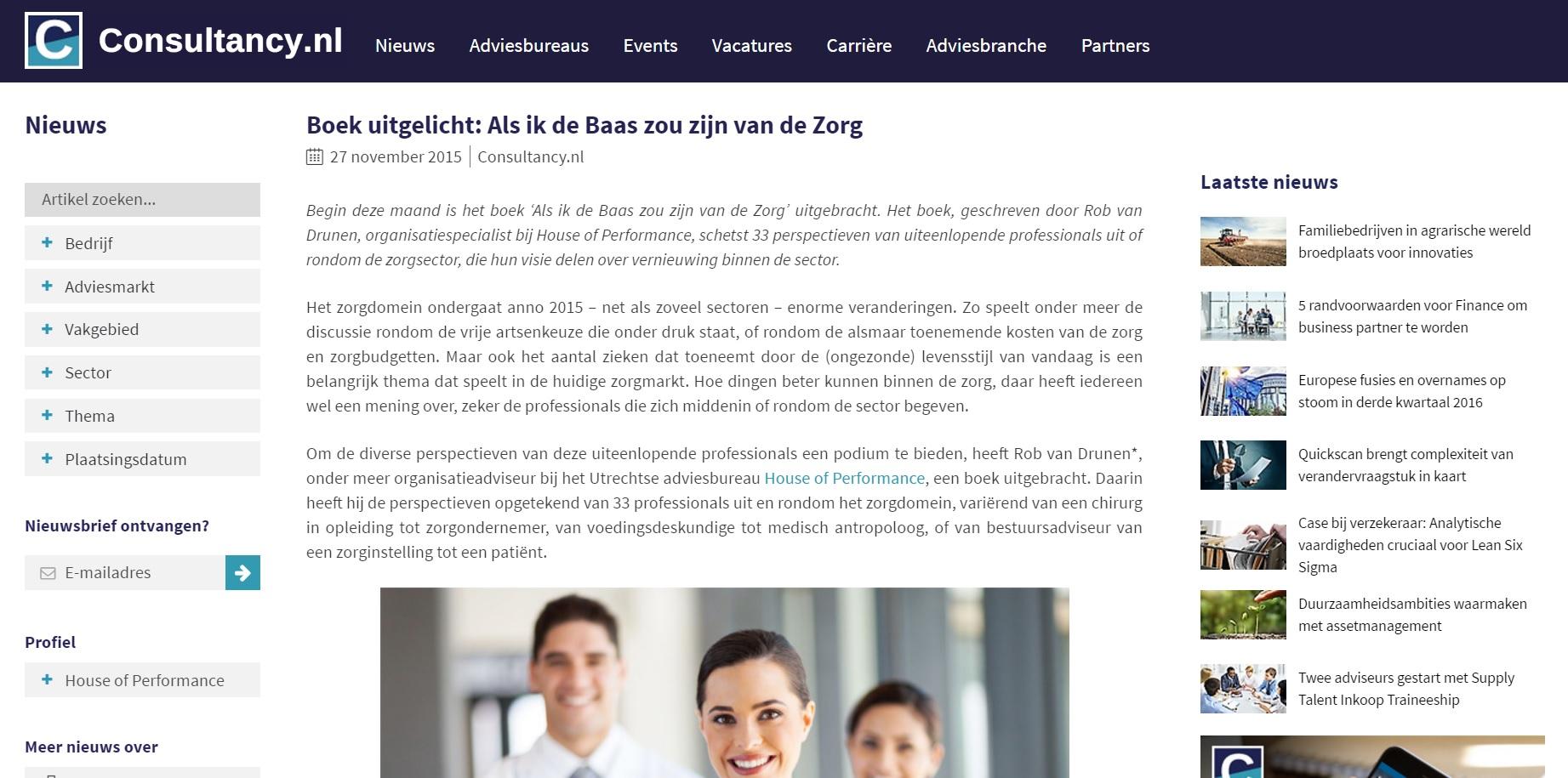 Consultany.nl Rob van Drunen