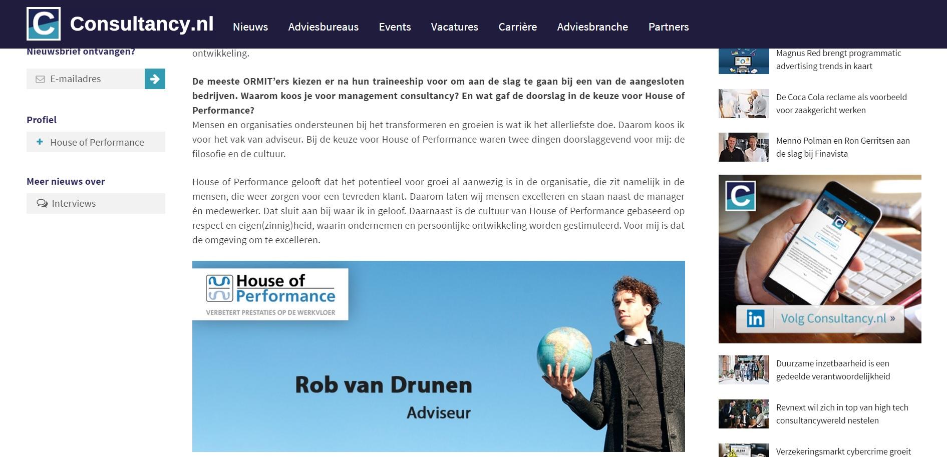 Consultancy.nl Rob van Drunen