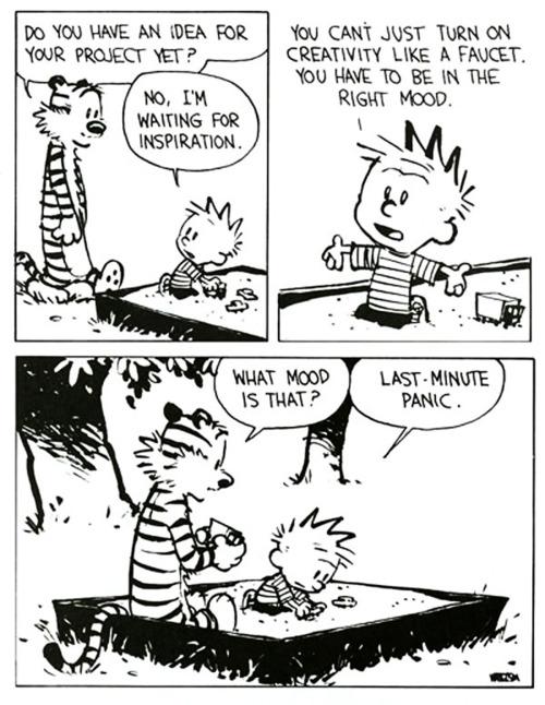 I've always loved Calvin & Hobbes.. but now I actually get it.    via Brainpicker