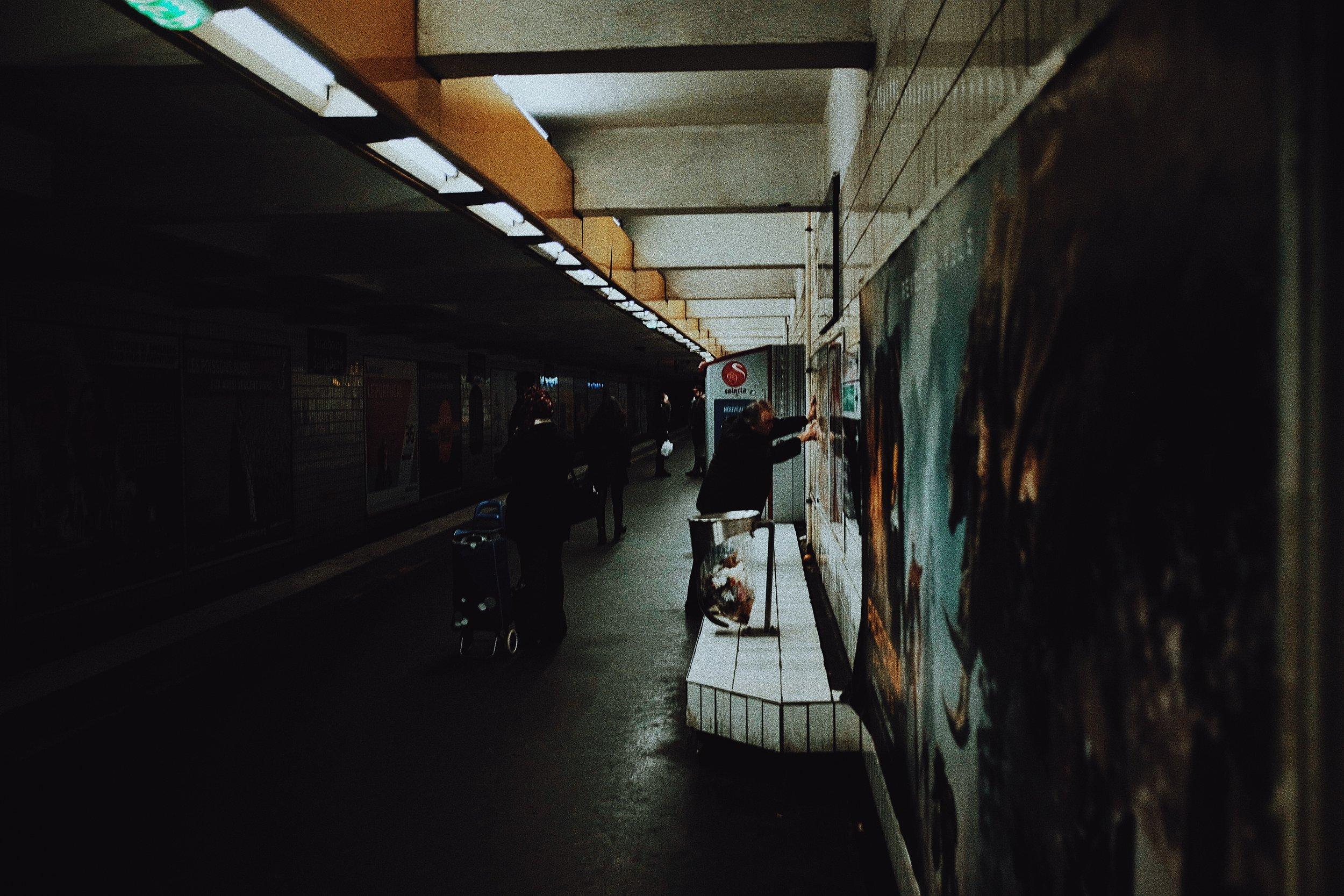 dark mornings in the city 😴