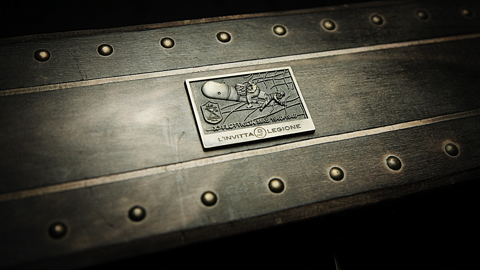 Flottiglia X M.A.S. metal tag