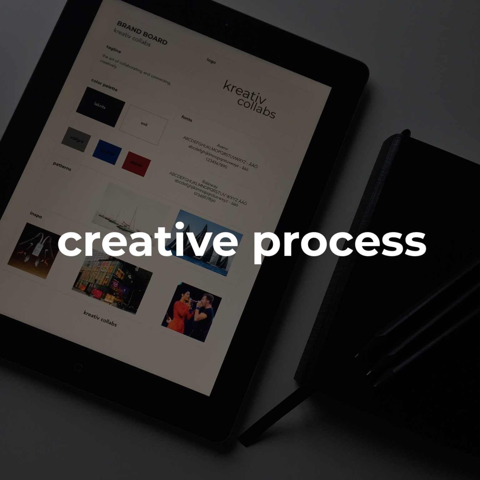 #creativeprocess   i use a fine art approach that uses visualizing, researching, processing and repeating until we have your exclusively designed brand id.
