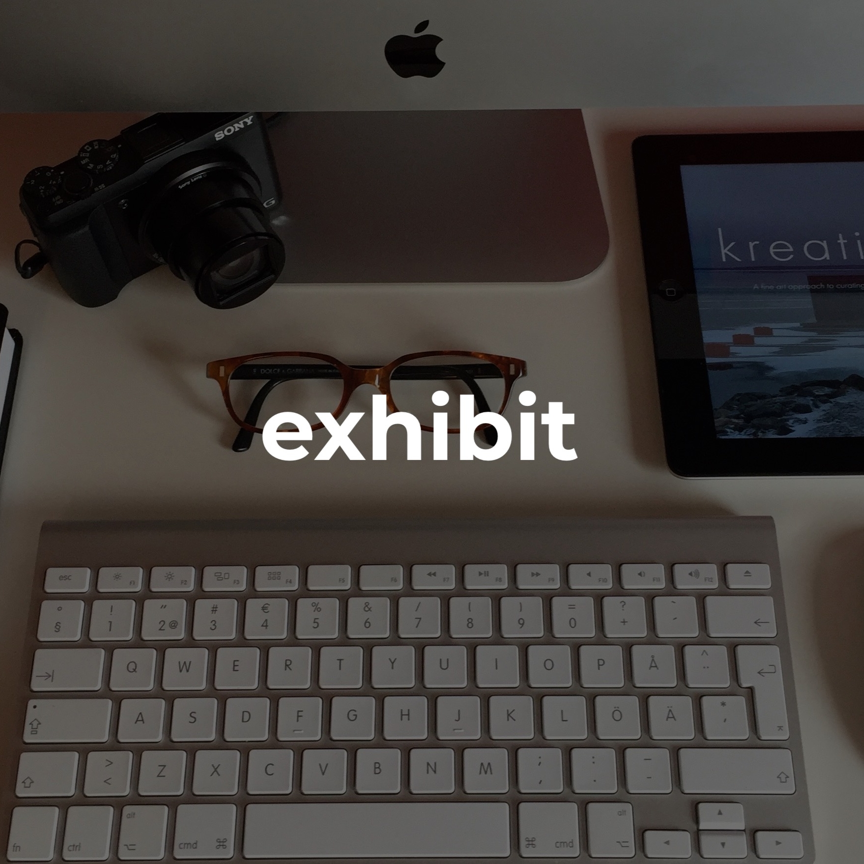 #exhibition   the exhibit is based on your package (or bespoke services) and can include a website, blog, digital/print materials.