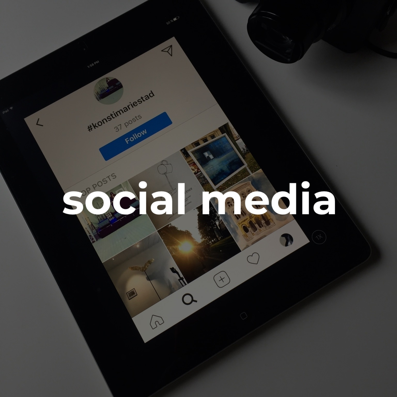 #socialmediacampaign    social media platforms will tie the visual elements of your brand id with your unique story.