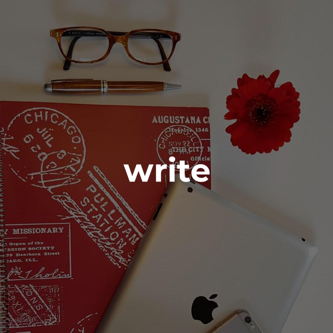 #writinglife   copy, posts, essays or grants and everything in between, I LOVE writing