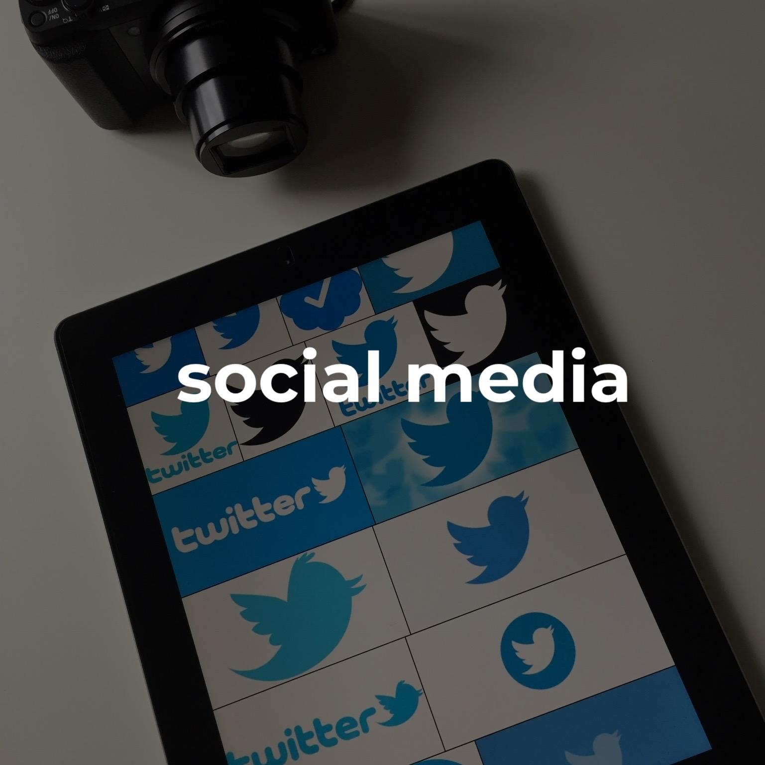 #socialmedia   kreativ och anslutande är nyckeln